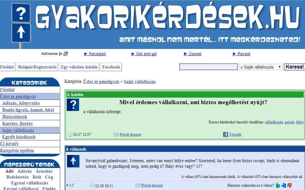 Indíts vállalkozást: 26. ötlet – Gyakorikérdések mobilapp