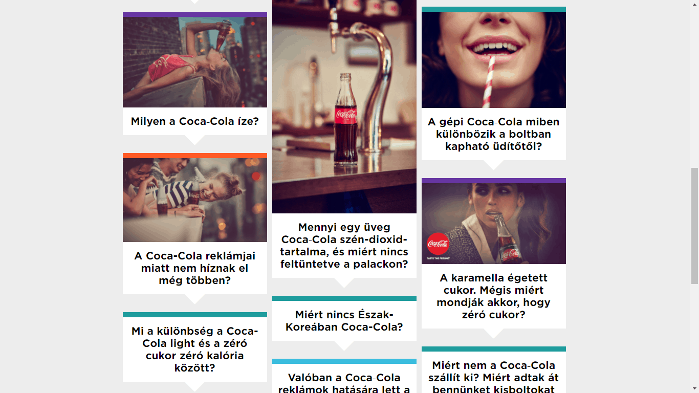 Így keresőoptimalizál a Coca-Cola, illetve így használja a tartalommarketinget.