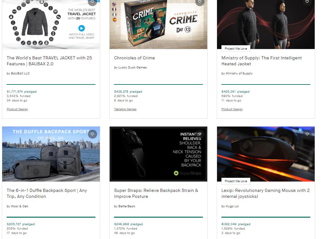 Közösségi finanszírozó kampányok - Kickstarter.com