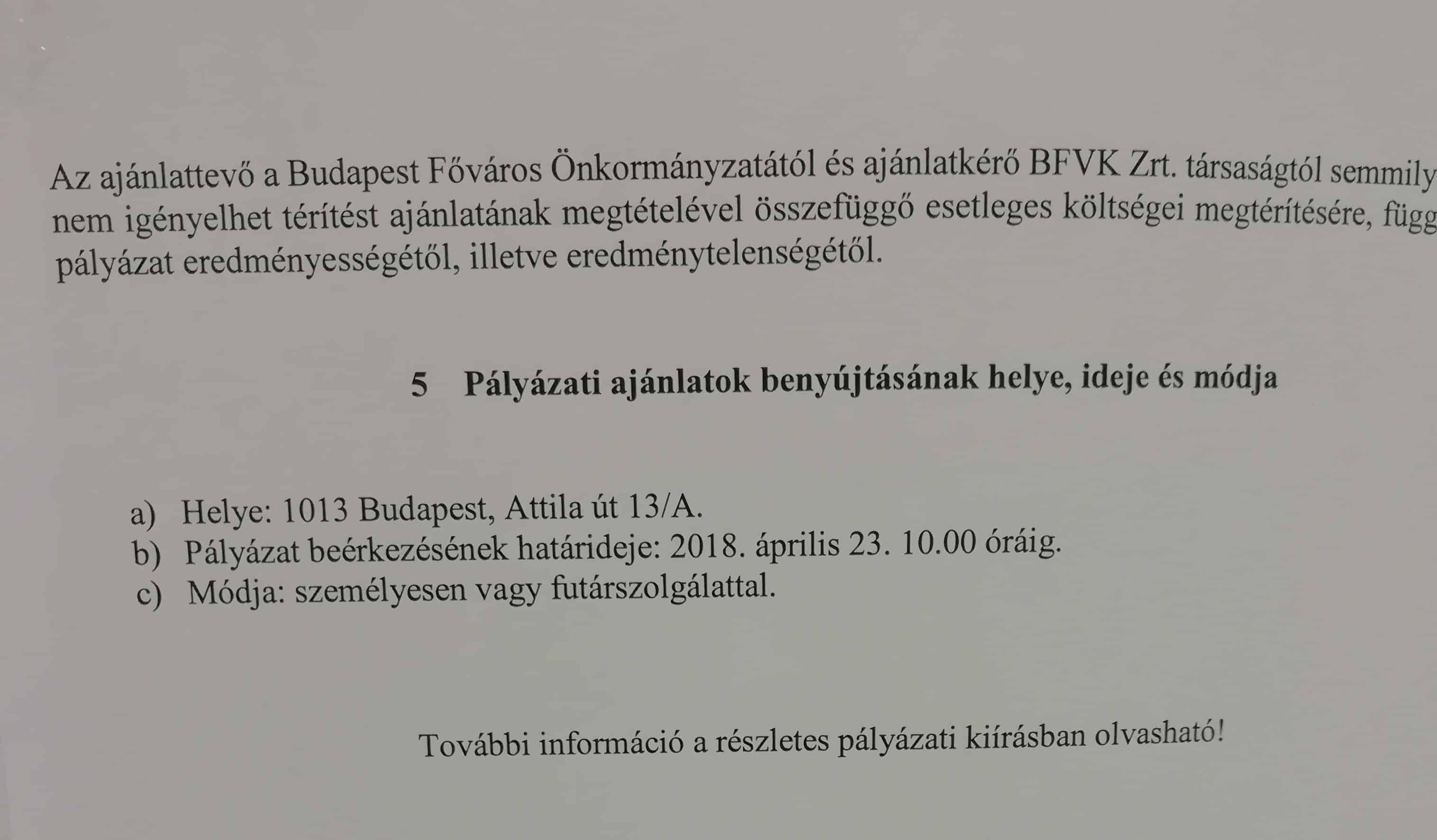 M4 metró üzlethelyiség bérleti díj - Forrás: Minner.hu