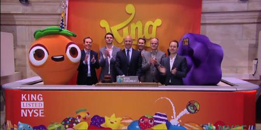 Elindult a kereskedés a King.com részvényekkel