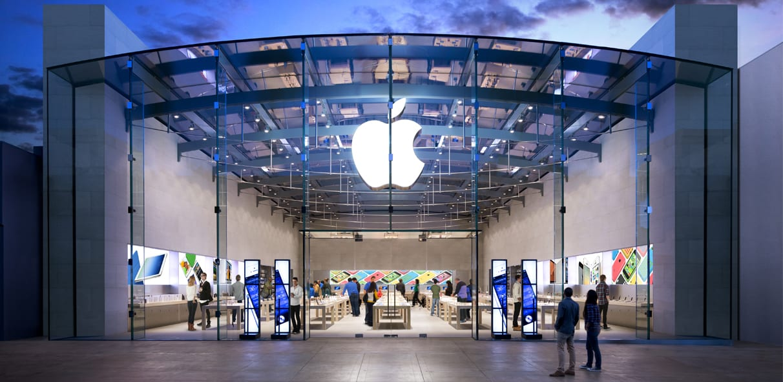 Apple store, apple bolt