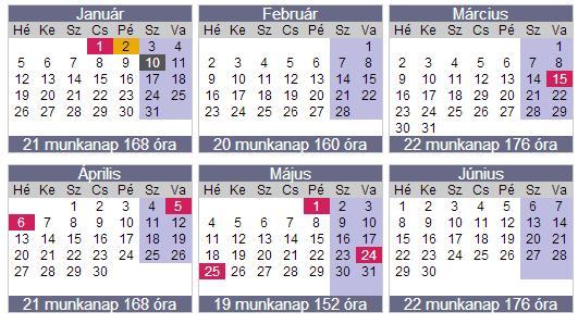 munkaidő naptár Munkaidő naptár 2015 | Minner munkaidő naptár