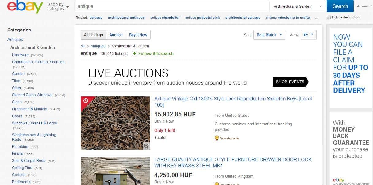 Indíts vállalkozást: 46. ötlet – Antik nepper online