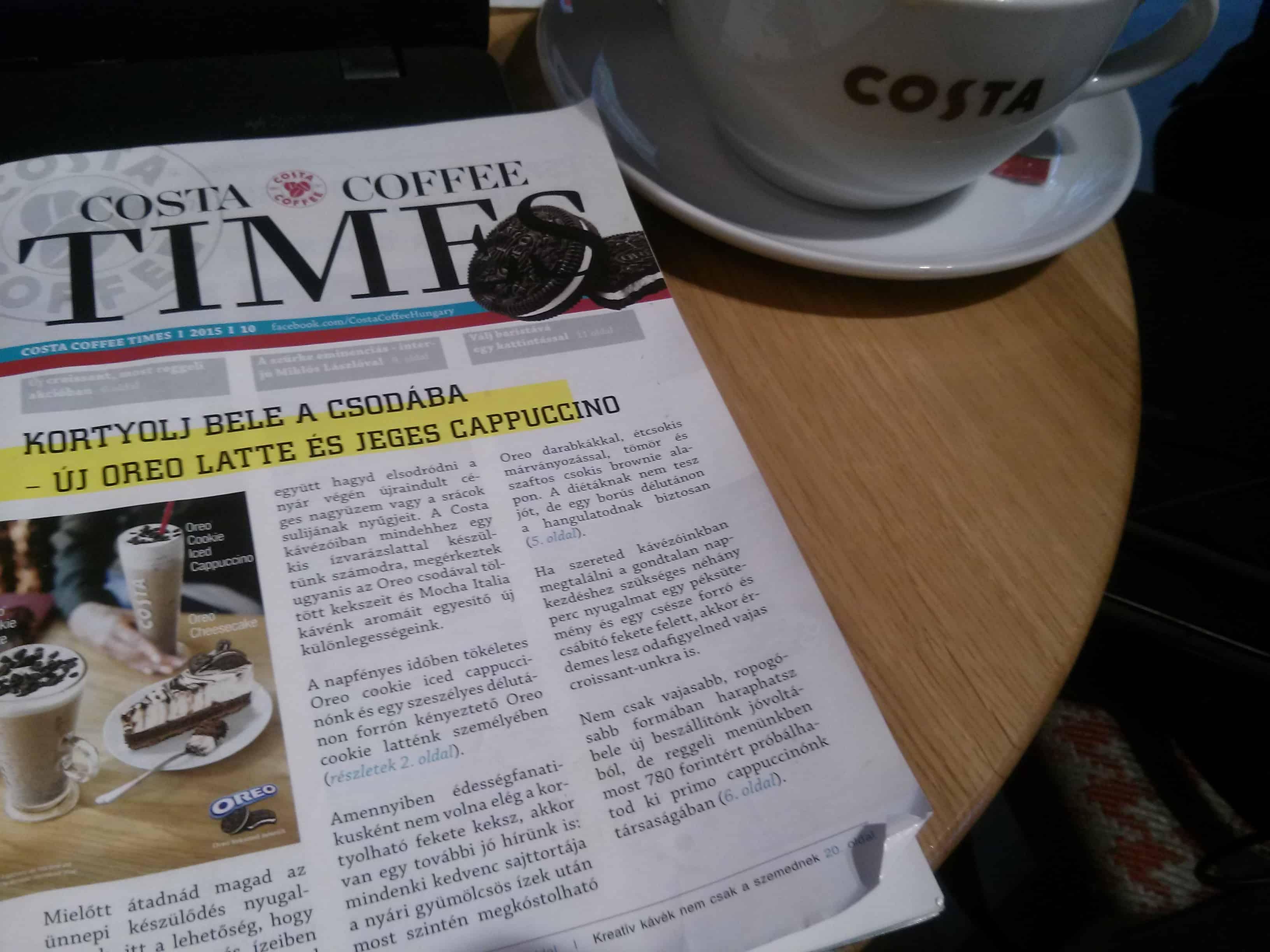 Indíts vállalkozást: 122. ötlet – CoffeeTimes