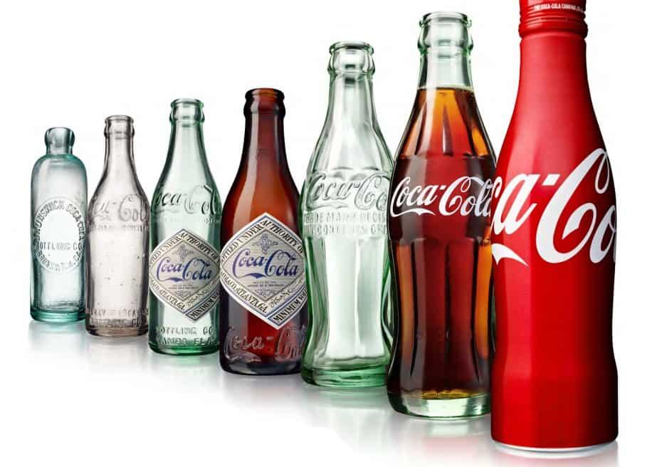 100 éves Coca-Cola üveg