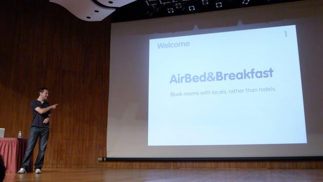 Az Airbnb első prezentációja (pitch) az ötletükről – Téged meggyőztek volna?