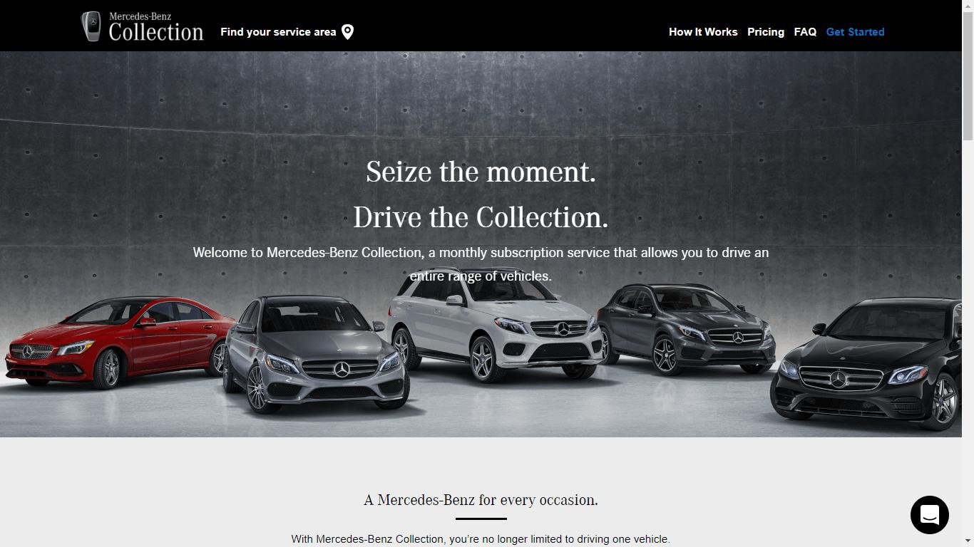 A Mercedes elindította az előfizetéses autóbérlés szolgáltatását az USA-ban