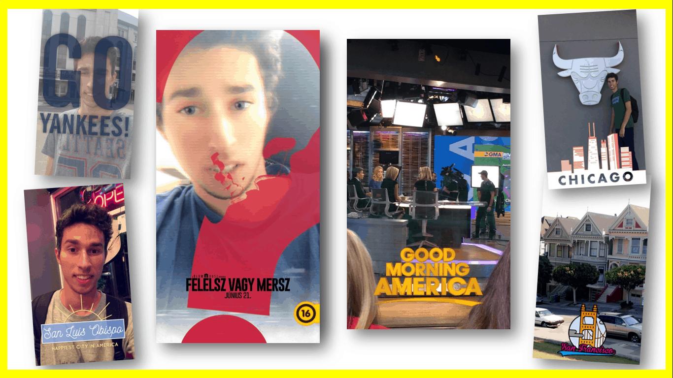 Snapchat marketing - prezentáció részlet - Forrás: Papp Kristóf/MarketingTársaság