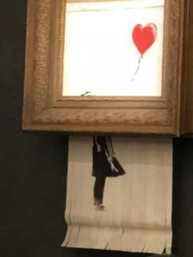 Ismét eladták a ledarált Banksy képet. Többszörösét éri. Ne is saccolj!
