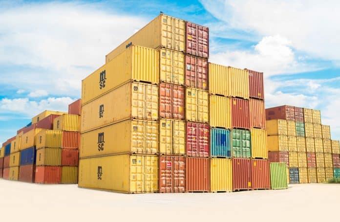 Kínai import, egy konténer szállítási költsége